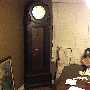 Our mystery Case Clock/Grandfather Clock