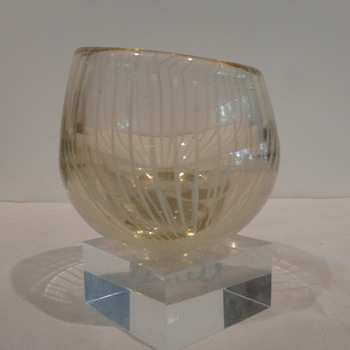 NANNY STILL - PUHALLETTUA FILIGRAANLASIA c.1950 - Art Glass