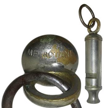 Australian ww1 whistle