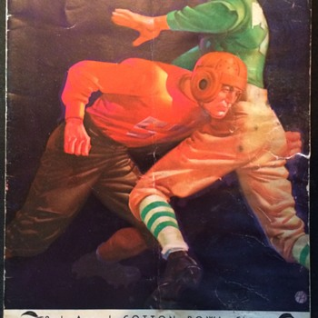 1938 Cotton Bowl Clasic RICE vs COLORADO Program  - Football