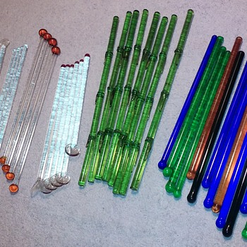 40 more glass swizzle sticks/cocktail stirrers ;-) - Glassware