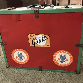 Baseball team suitcase - Baseball