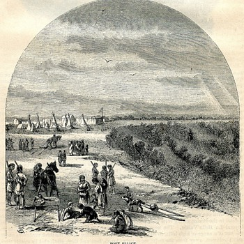 Fort Ellice, Hudson's Bay Post, 1860