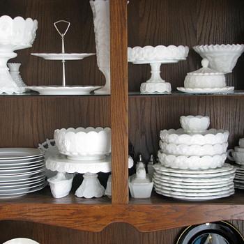 Westmoreland milkglass - Glassware