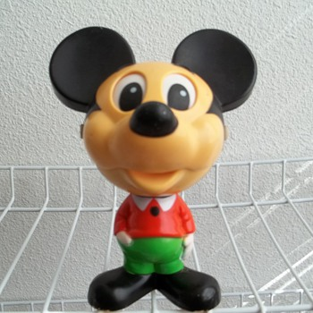 1976 Mattel, Talking Mickey Mouse.