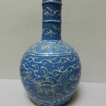 19th Century? Arabic? Middle Eastern? Pottery Vase - Anyone recognize the design? - Pottery