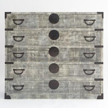 Shagreen Tansu Chest - Furniture