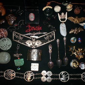 Bat Jewelry - Costume Jewelry
