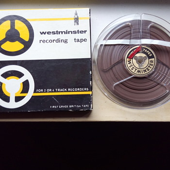 1966-Westminster reel to reel recording tape.