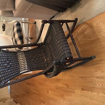 Knitting/Sewing Rocker - Mid 1800's? - Furniture