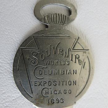 Souvenir World's Columbian Exposition Chicago 1893