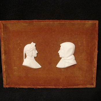 Framed Felt Silhouettes Picture