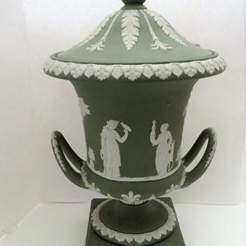 Large Wedgwood Jasperware Urn - China and Dinnerware