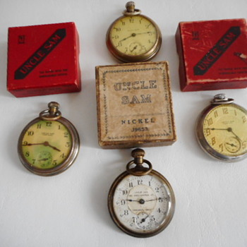 Remembering the Fallen - Pocket Watches
