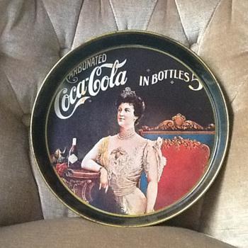 coke tray - Coca-Cola