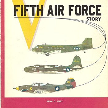 The Fifth Air Force Book World War Two - Military and Wartime