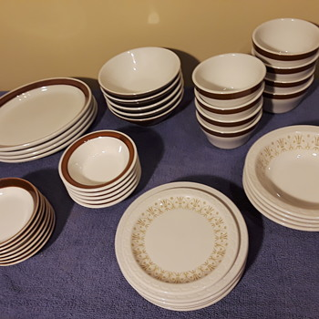 more of my 'restaurant-ware' china from the kitchen cabinets - China and Dinnerware
