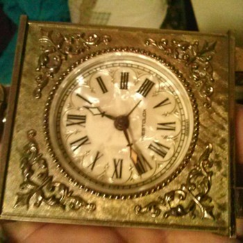 vintage alarm clock made in germany - Clocks