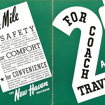 New Haven Railroad Brochures