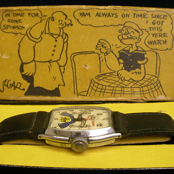 1935 Popeye Wristwatch Box