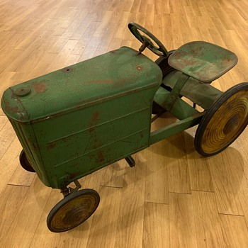 Early pedal tractor - Toys