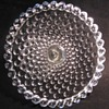 Duncan and Miller Glass Co. 'Old Hobnail' Cake Stands