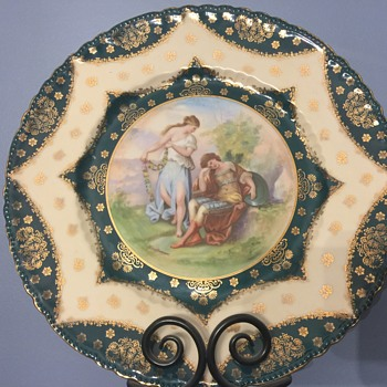 Large decorative plate - China and Dinnerware