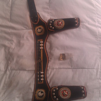 Vintage Paladin Cap Gun Holster - Toys