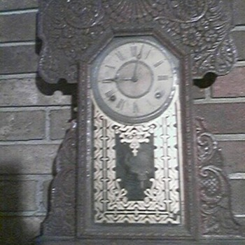 The E. Ingrahm Co. Clock