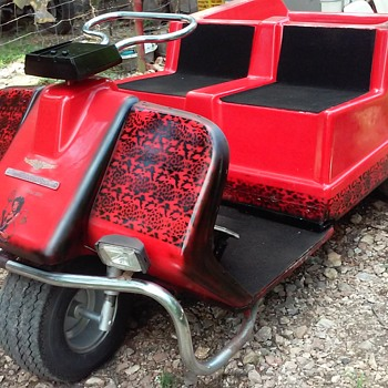 1980 Harley Davidson Golf Cart - Motorcycles