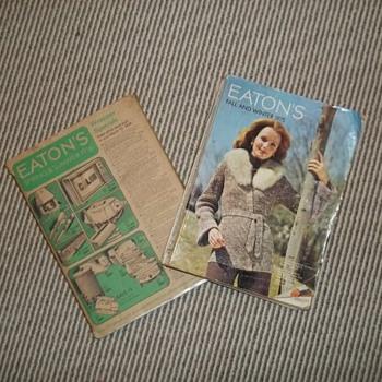 Eaton's catalogues - Books