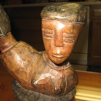 MAN & WOMAN - Folk Art