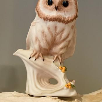 Cybis porcelain - Woody Owl - Figurines