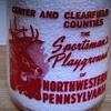 "Purity Milk Co. (Philipsburg, Pa.) ""SPORTSMAN'S PLAYGROUND"" picture......."