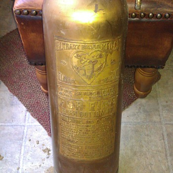 Elkhart Brass Fire Extinguisher