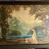 1920s Print of Woman Worshiping the Sun or something