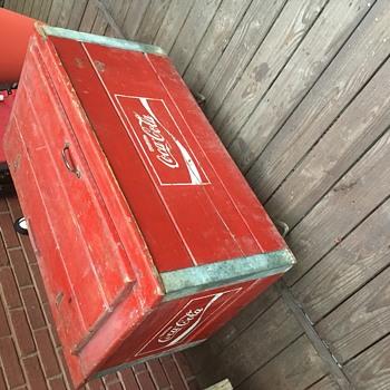 Coca Cola wooden chest - Coca-Cola