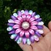 Enamel Flower Power Pin