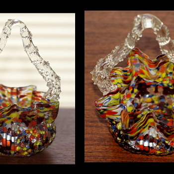 Baskets by Welz….  We All Have Them, But Few Admit Readily That They Collect them!! A Couple of New Additions - Art Glass