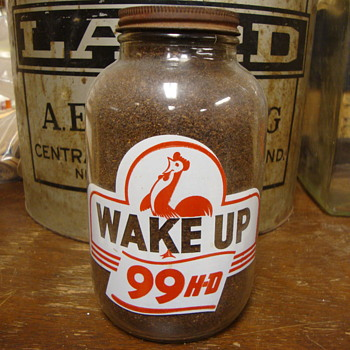 Wake Up Oil Bottle...... - Petroliana