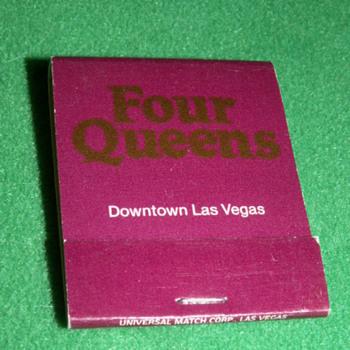 Vintage Four Queens Casino ~ Las Vegas, Nevada (Fremont Street) - Tobacciana