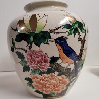 Japanese Ceramic Vase - Asian
