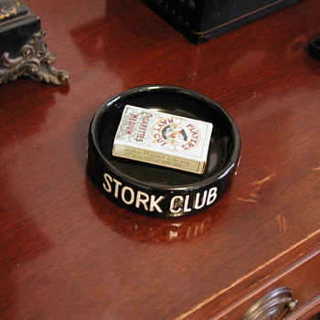 Stork Club ashtray - Tobacciana