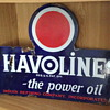 Havoline Flange Sign