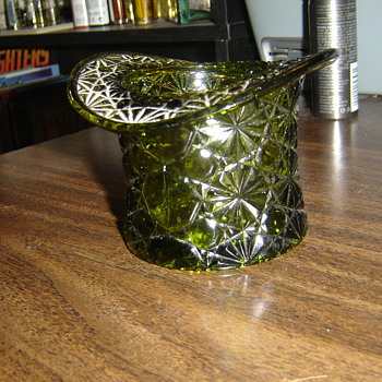 Glass top hat - Glassware