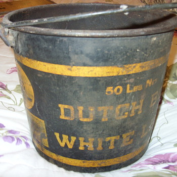 old paint cans - Tools and Hardware