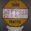 1930s/40s STOP sign (Thru Traffic)