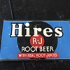 Hires Root beer sign 1950's