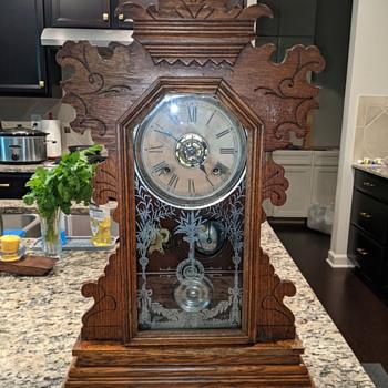 Ansonia Mantle Alarm Clock - Fresno - Clocks