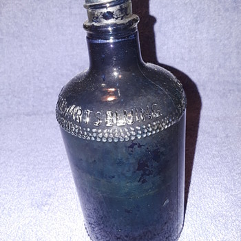 MRS. STEWART'S BLUING bottle - Bottles